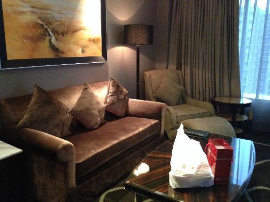 Hilton Shanghai Hongqiao: 休息区域