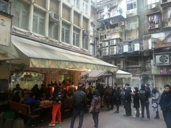 Margaret's Cafe e Nata: 好象永远在排队