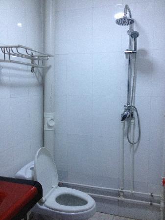 Wutaishan Runaway International Youth Hostel: 浴室