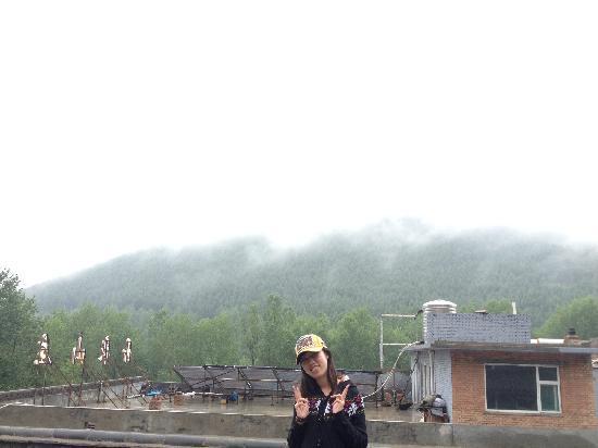 Wutaishan Runaway International Youth Hostel: 楼顶