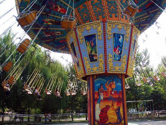 Chaoyang Park : 朝阳公园游乐设施