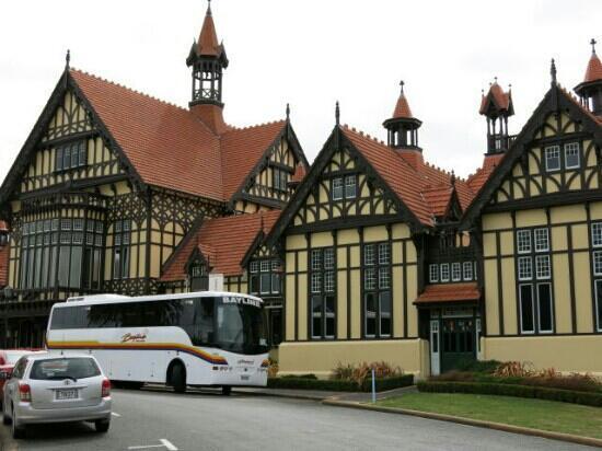 Rotorua Museum : 博物馆