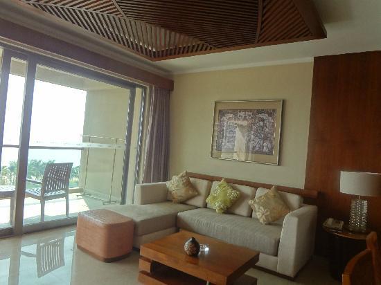 Pullman Oceanview Sanya Bay Resort & Spa: 客厅