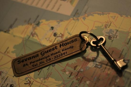 Sevana City Hotel: 复古风的钥匙
