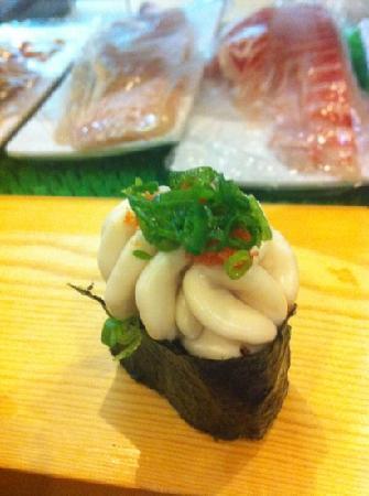 sushiMASA: 白子寿司