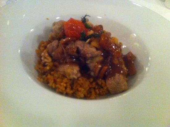Pasazade Restaurant Ottoman Cuisine : 羊肉米饭,味道还行