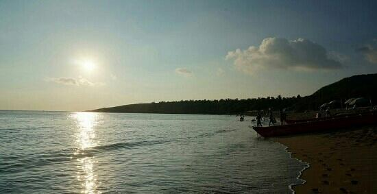 White Sand Bay : 黄昏