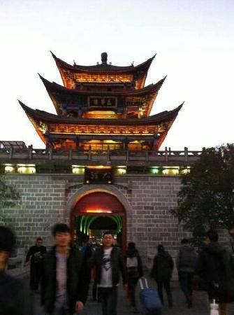 Dali Wenxian Road : 地标