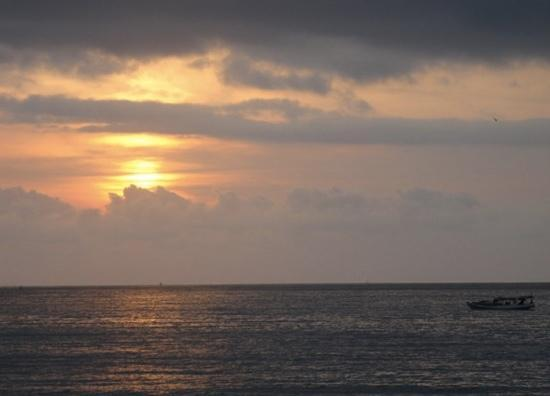 Jimbaran Bay : 金巴兰海滩落日
