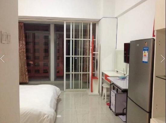 Cityoasis Apartment Hotel Fuzhou Wusi: 豪华电脑大床房