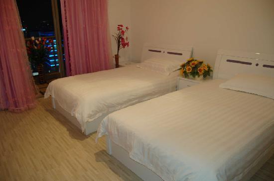 Cityoasis Apartment Hotel Fuzhou Wusi: 豪华双床房