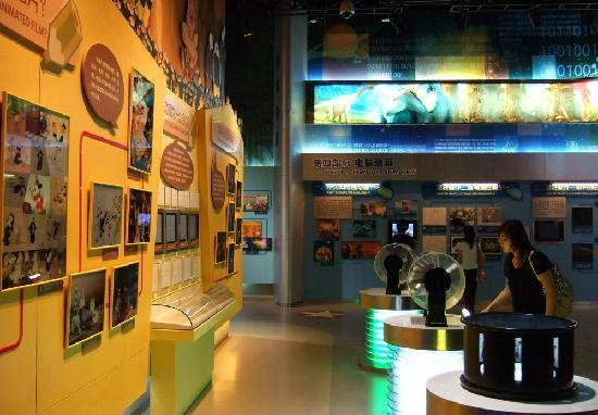 China National Film Museum : 中国电影博物馆 动画展区