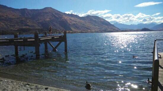 Lake Wanaka: 湖边