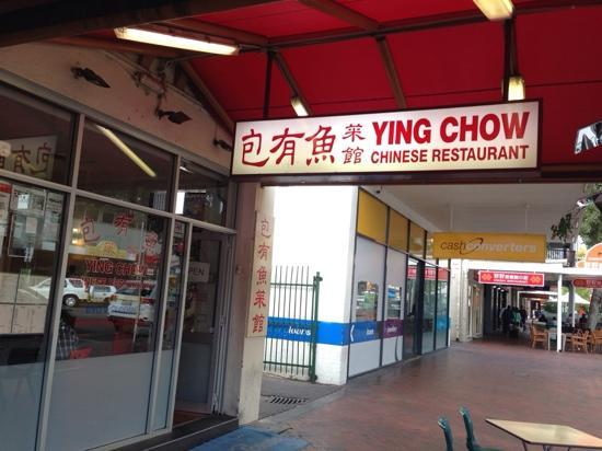 Ying Chow: 太一般了