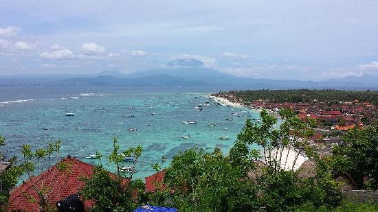 Lembongan Harmony Villas: Unbeatable view from Villa