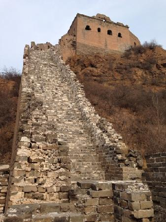 Jinshanling Great Wall: 万里长城,金山独秀。