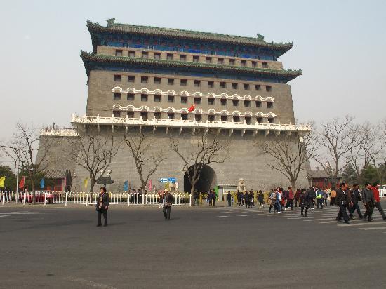 Qianmen Main Street Mall: 前门楼
