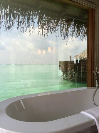 Conrad Maldives Rangali Island : 豪水