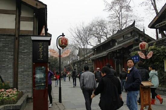 Kuanzhai Ancient Street of Qing Dynasty : 宽窄巷子