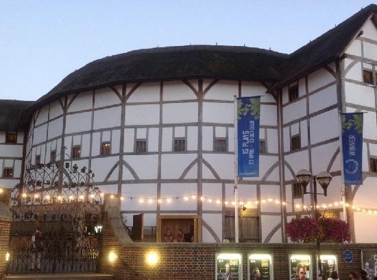 Shakespeare's Globe Theatre : 莎士比亚环球剧场