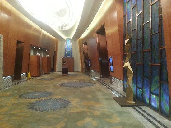 Mandarin Oriental Pudong, Shanghai: 会议大厅够气派吧
