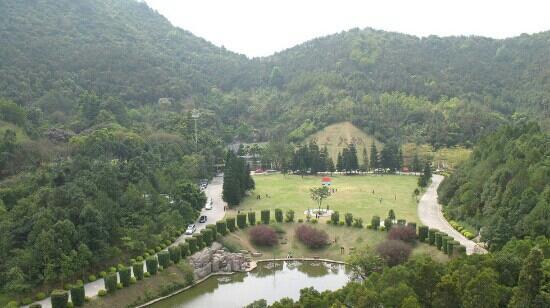 Xianhu Botanical Garden: 山头俯瞰