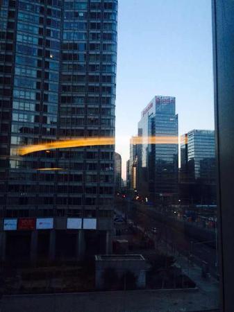 Grand Millennium Beijing : 从健身房看出去