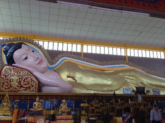 Dharmikarama Burmese Temple: 卧佛