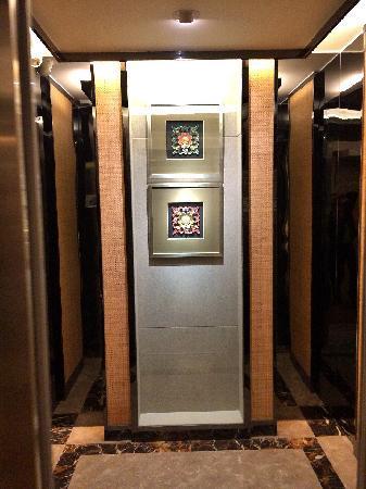 Ssaw Hotel Hefei: 电梯