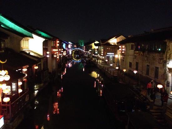 Shantang Street: 夜阑人静的山塘街