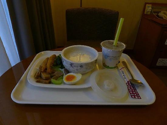 CJ Hotel : 送至客房的可选早餐