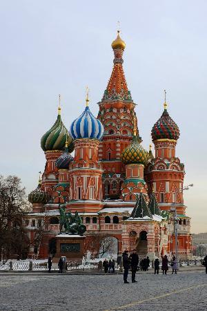 Cathédrale Saint-Basile-le-Bienheureux de Moscou : 瓦西里教堂