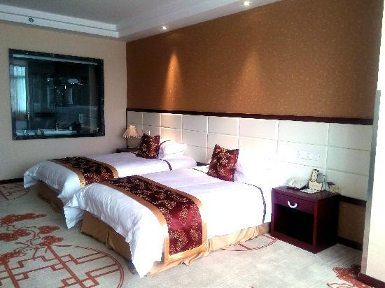 Guangyuan Jianmenguan Hotel : 卧房
