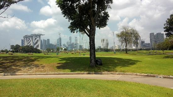 Marina Bay Golf Course: 景色不错