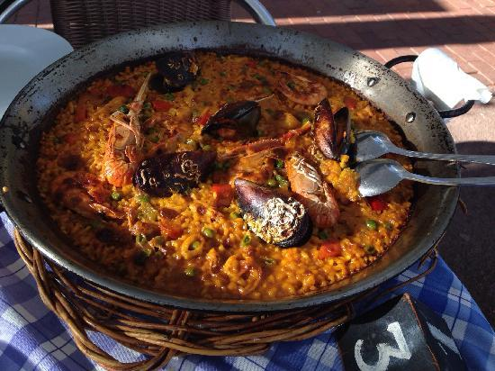 El Rebujito de Moran: 海鲜饭