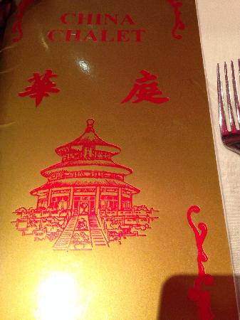 China Chalet Restaurant: chalet
