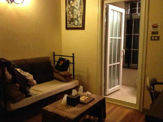 Charcoa Bed and Breakfast: 客厅