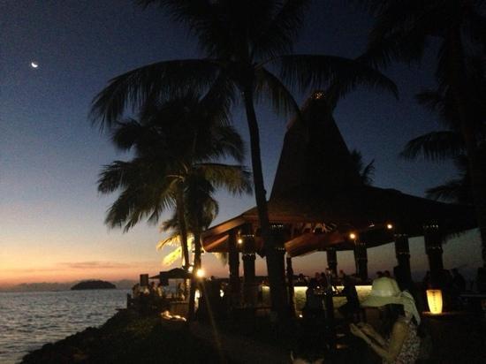 Shangri-La's Tanjung Aru Resort & Spa : 著名的日落吧