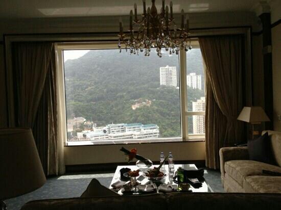 Island Shangri-La Hong Kong: 客厅