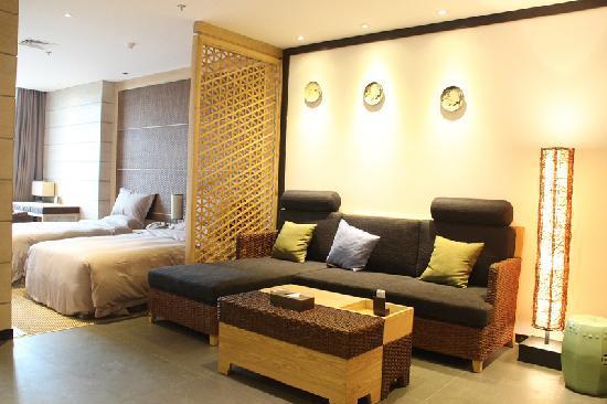 Zhouzhi County, Kina: 这是酒店客房,不错吧,很漂亮!