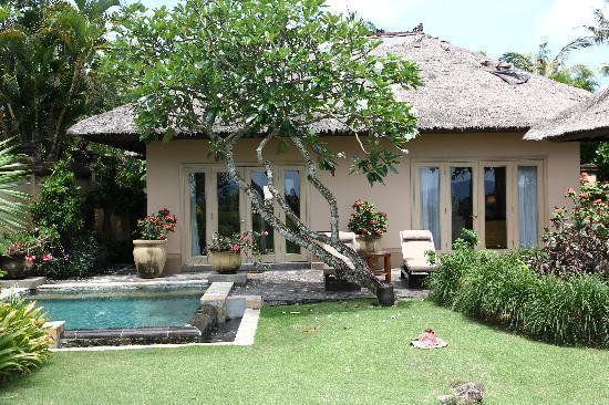AYANA Resort and Spa: 入住Ayana的Villa,人品爆发,被安排到了最前排中间的的别墅