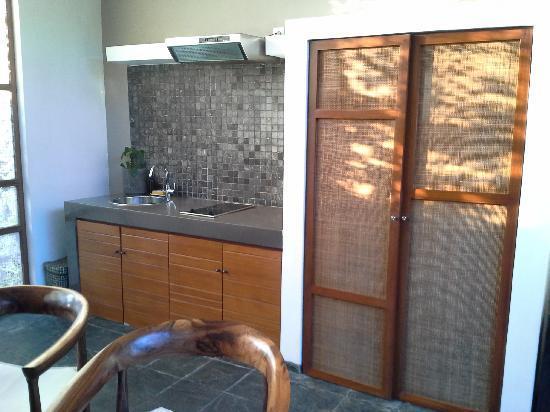 Tegal Sari: villa 起居室