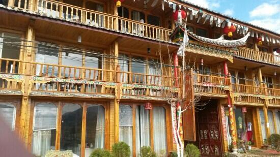 Yanyuan County, China: 客栈的规模挺大的