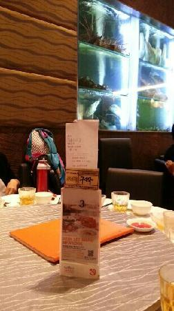 Jumbo Seafood : 餐厅内