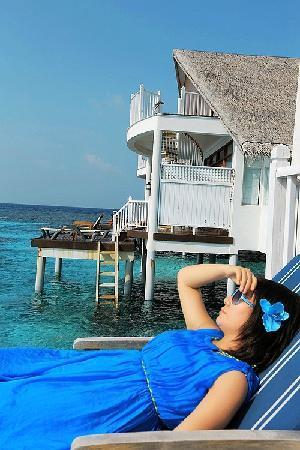 Centara Grand Island Resort & Spa Maldives : 水上屋66号