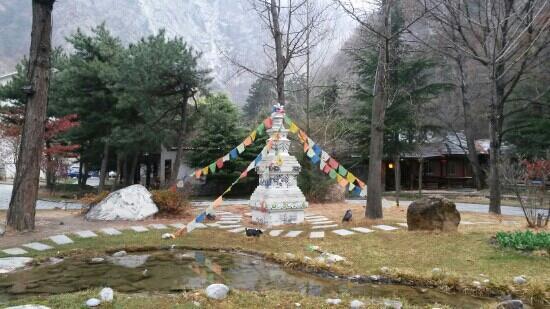 Jiuzailing Temple : 九寨灵塔