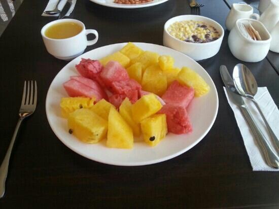 Dreamtel Kota Kinabalu: 酒店位置不错,早餐也还可以