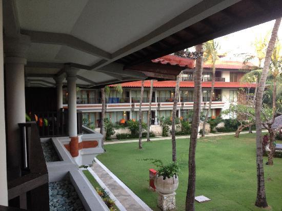 Holiday Inn Resort Baruna Bali: 阳台一景
