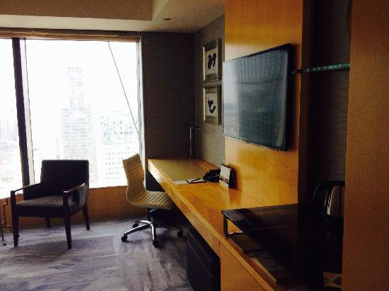 Jing An Shangri-La, West Shanghai: 客房