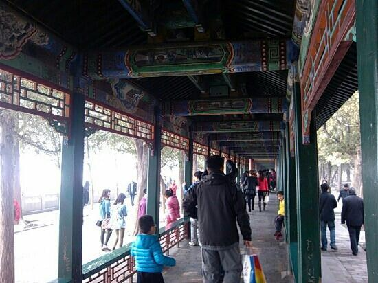 Long couloir du Palais d'été : 颐和园长廊